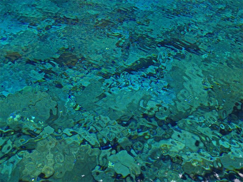Underwater Rockery