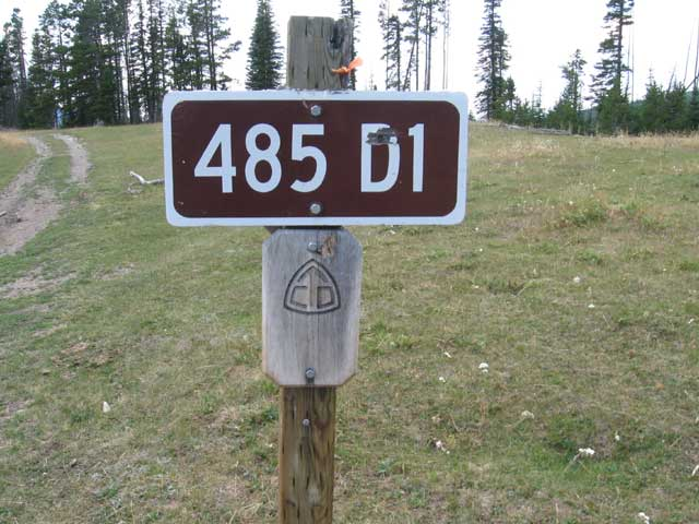 first continental divide crossing