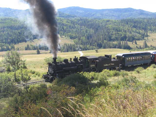 cumbres & toltec locomotive