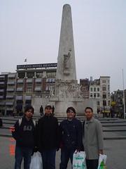 Kat Dam Square, Amsterdam, Netherlands