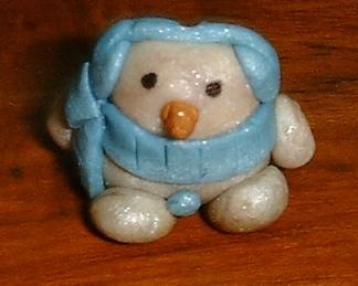 Snowman sculpey