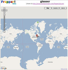 Frapper.. another sweet Google Mashup for Social Networking