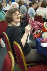Anna knits