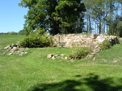 Old barn foundation