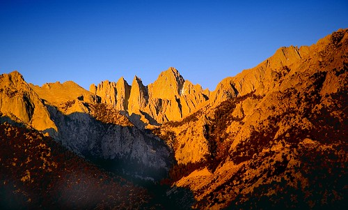 Whitney Portal Dawn
