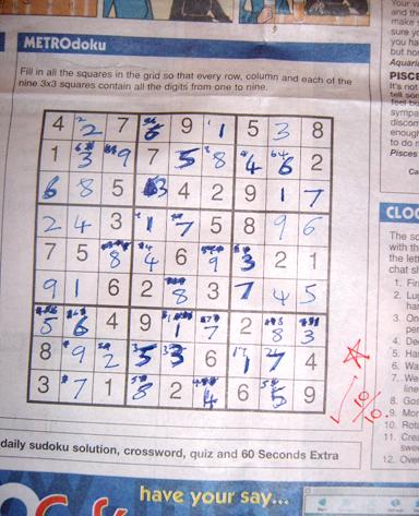 Lost Sudoku Virginity