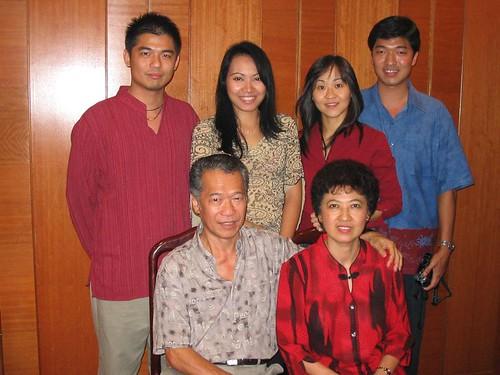 Potrait of my family