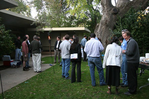 Big Brother Backyard Bbq : BBQs with a dozen or so entrepreneurs at Mike Arringtons house I