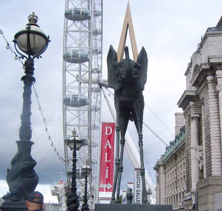 Dali and the London Eye