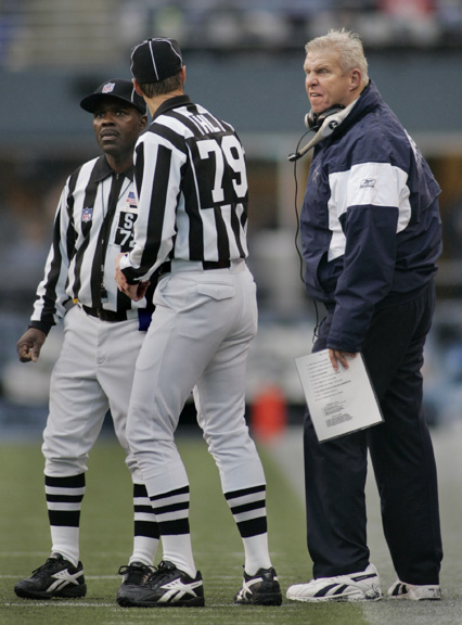 Parcells is Pissed