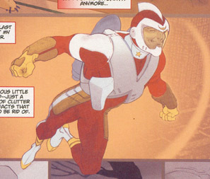 Adam Strange Redesign (Pascual Ferry)