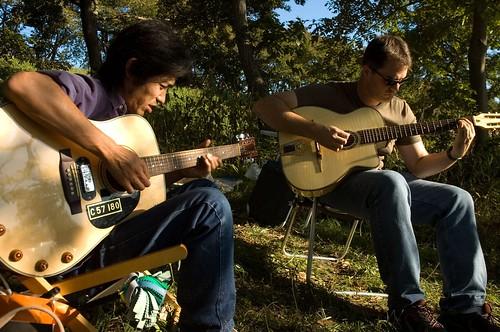 {10-23} picnic at tama river
