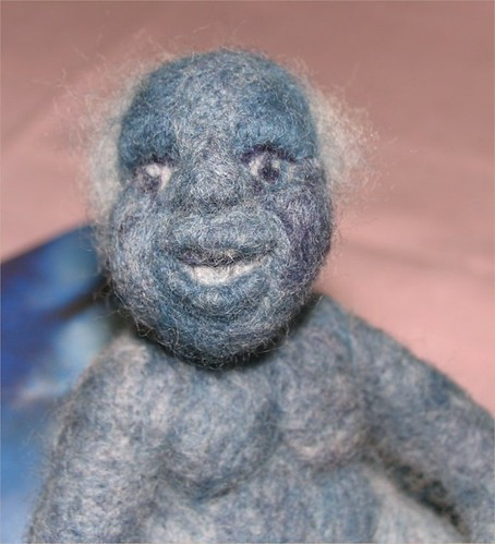 needlefelt doll