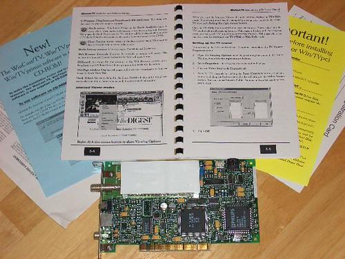 A 1996 era Intel Intercast PCI Board