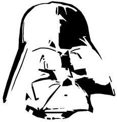 The Milners Darth Vader Pumpkin Carving Template