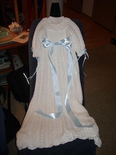 Christening Gown made by Gail