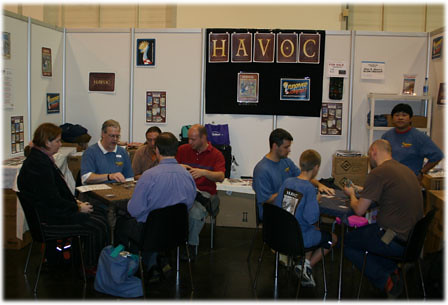The Havoc Demo Team in Full Swing