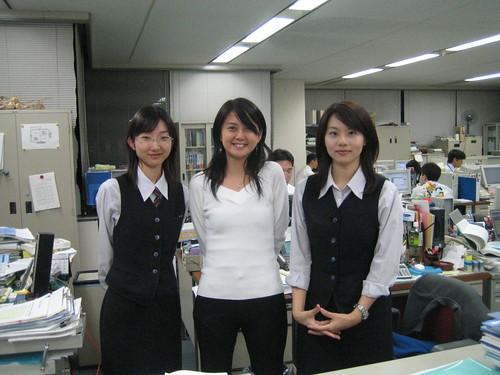 Yatabe-san, me, Tokeshi-san