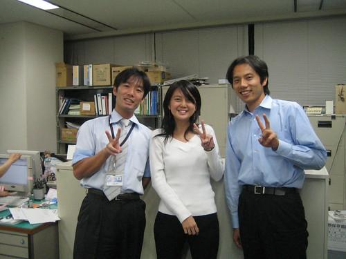 Inaba-san, me, Tanaka-san