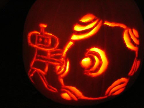 katamari damacy pumpkin!