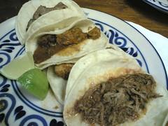 Tacos at Mexico Sabroso aka Taco Rico
