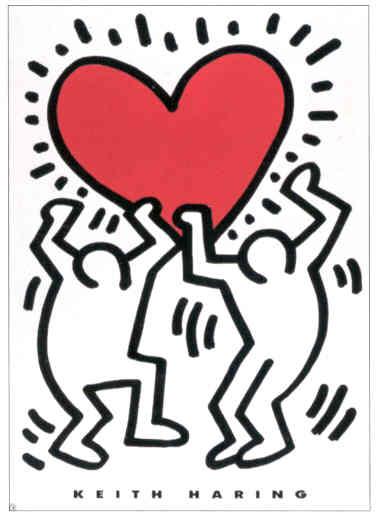 Ya sé que a veces no hago todo lo que digo: Keith Haring