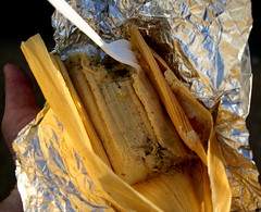 chicken tamale from mom's tamales