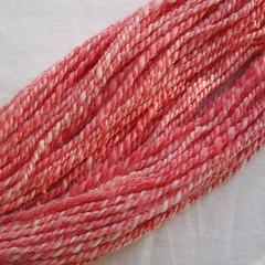 21: Kool Aid dyed merino - plied