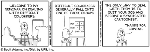 Dilbert - Difficult Co-Workers