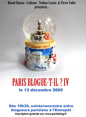 Paris Blogue-t-il? IV