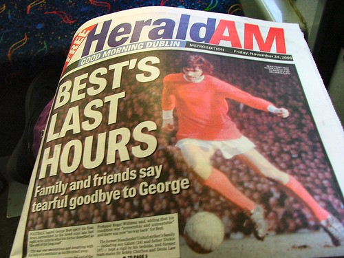 George Best's final hours