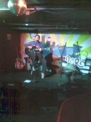 Coleman Lindberg @ The Dinkytowner (sorry for the crappy cameraphone pic)