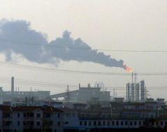 中国污染糟透了