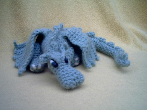 Knit Dragon Pattern : Needle Exchange   2006   November