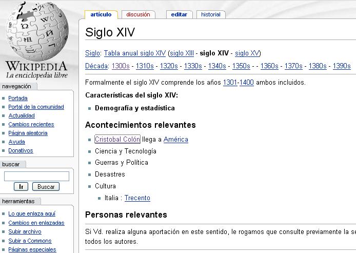 error wikipedia