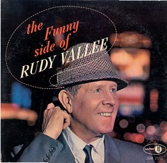 Rudy Vallee LP (The Funny Side of Rudy Vallee) (1964) cover