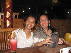 Kopdar iD-Gmail Bali Seri IV @ Jimbaran ; Ina & Bunda Judith