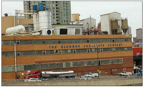 Blommer Chocolate Factory spews chocolate for miles