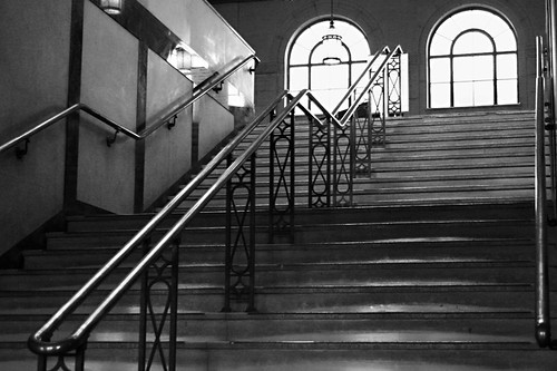 station stairway