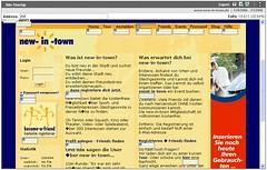 Site-Overlay für www.new-in-town.de