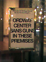 Ordway Center Sign