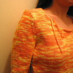 Creamsicle T - sleeve redux