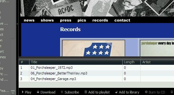 free MP3s!