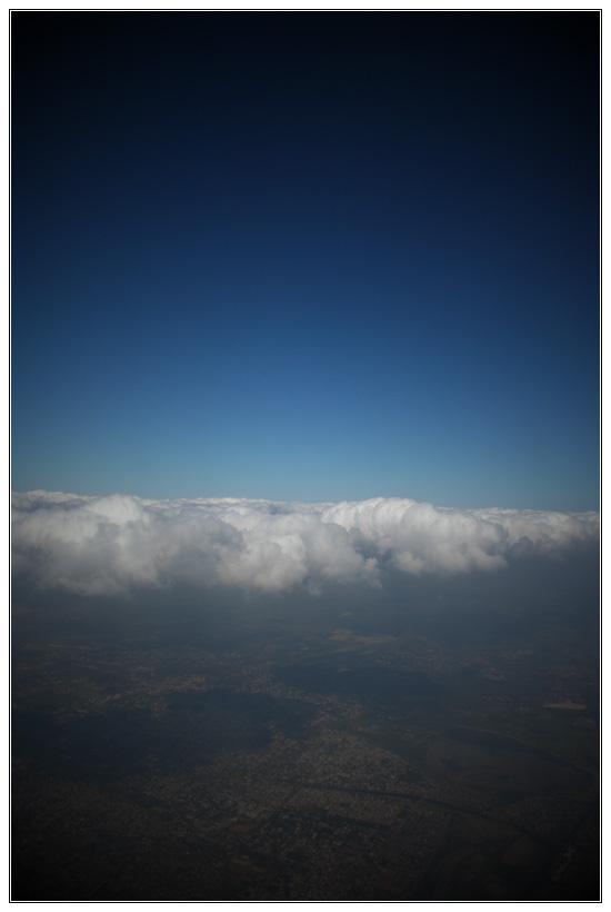 Flying over Tamil Nadu