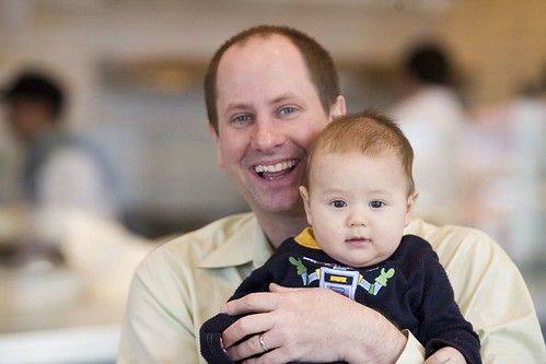 TiVo's Director of Service Operations E. Stephen Mack and Son Sammy