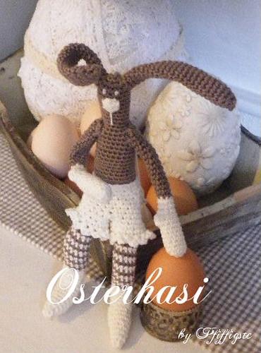 Osterhasi by Pfiffigste Osterhase Ostern Häkeln Hasenamigurumi amigurumi häkeln häkelhase photo by Pfiffigste Fotos