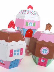 Cupcake Cottages Angle photo by Fantastic Toys
