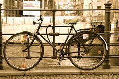 A bicycle in Berlin [Explored] photo by judi may