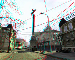 Half-Life2-Missing Information Mod08-City17 Street 3D (Anaglyph) photo by Phaota2