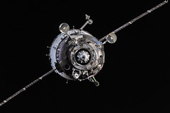 Soyuz TMA-10M Spacecraft Approaches Station for Docking photo by NASA: 2Explore